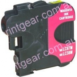 Brother LC-38 / LC-67 MAGENTA compatible ink cartridge