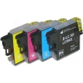 Brother LC-39 compatible value pack