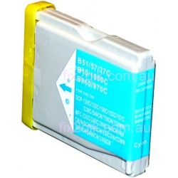 Brother LC-57 / LC-37 CYAN compatible ink cartridge