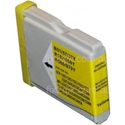 Brother LC-57 / LC-37 YELLOW compatible ink cartridge